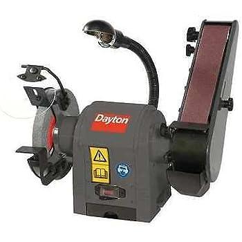 Dayton 6y945 Belt Disc Sander 1 3 Hp 120v Power