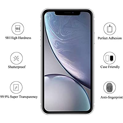 Conber (4 Pack) Screen Protector for Huawei Nova 2, [Scratch-Resistant][Anti-Shatter][Case Friendly] Premium Tempered Glass Screen Protector for Huawei Nova 2: Baby