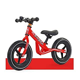 Children's Balance Car Without Pedal Scooter Slide Car 2-6 Years Old Bicycle Adjustable Slide Car Children's Gift, a QIANDONG1
