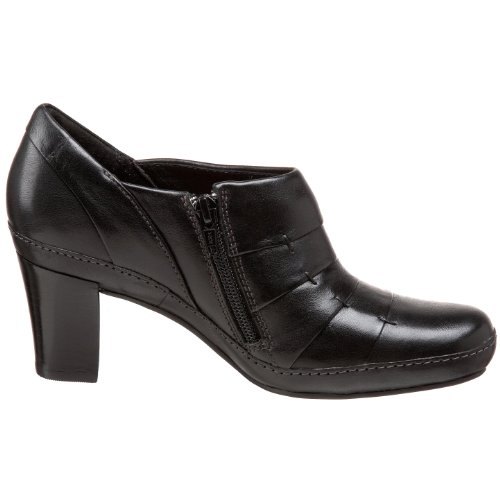 Clarks Womens Mika Sue Bootie Black