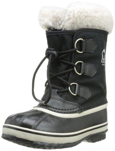 Sorel Children Yoot Pac Nylon Winter Boot , Black, 10 M US T