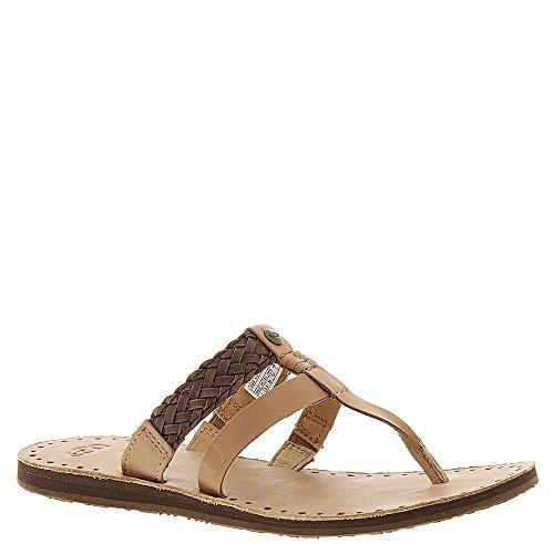Chocolate Leather Footwear - UGG Women's Audra Chocolate Leather Sandal 7 B (M)