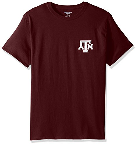 Champion NCAA Texas A&M Aggies Team Color University Performance Tee (Texas A&m University Football)