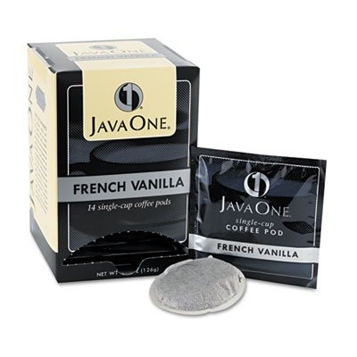 Java One 70400 Coffee Pods, French Vanilla, Single Cup, (Java Trading Co . French Coffee)
