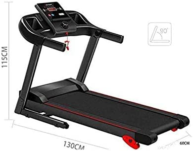 Running Machines Foldable Electric Running Machines, Treadmills for Home, Multi-Function Treadmills,Home Comfortable Fitness Equipment Electric Treadmill Motorised Running Machine With Incline Electri 8