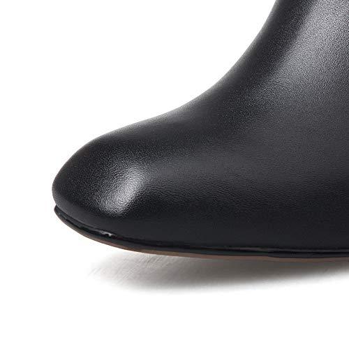 Noir 36 5 Balamasa Femme Noir Abm13436 Sandales Compensées Hnn1PqzI