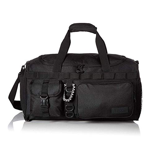 Fitdom Small Gym Duffel Bag With Shoe Compartment. Best for Workout & Basketball