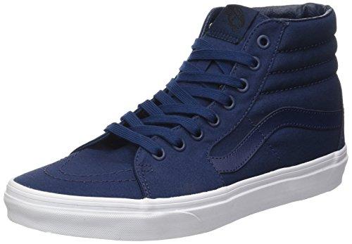 Vans Ua Sk8-Hi, Zapatillas Altas para Hombre Azul (Mono Canvas)