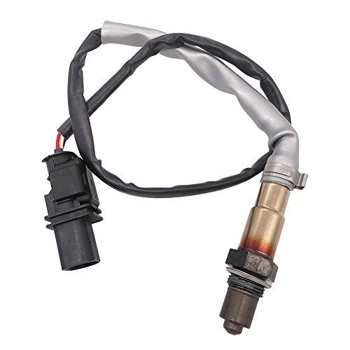 Germban 5-Wire Wideband Upstream Front Oxygen Sensor Fits for Audi A3 TT VW GTI Eos Passat CC Golf Jetta 2.0L 06J906262AA