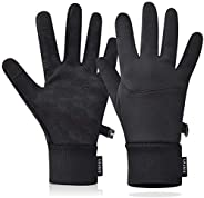 Winter Gloves for Women and Men,Touch Screen Gloves Warm Water Resistant Windproof for Running,Walking,Cycling