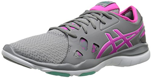 ASICS Women's GEL Fit Nova 2 Fitness Shoe, Taupe/Pink Glow/Aqua Mint, 8.5 M US