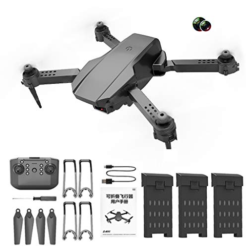Ultralight Compact & Foldable Pocket Drone Quadcopter Aircraft for 4K Video