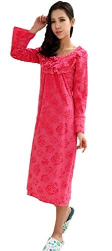 Soojun Womens Pattern Nightgown Lounger