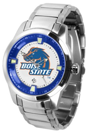 (SunTime Boise State Broncos Titan Steel Watch)