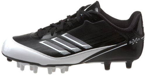 Pictures of adidas Men's Scorch X SuperFly Low Black/White/Metallic Silver 4