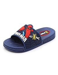 ROKIDS Kids Boys Spiderman Home Sandals and Slippers