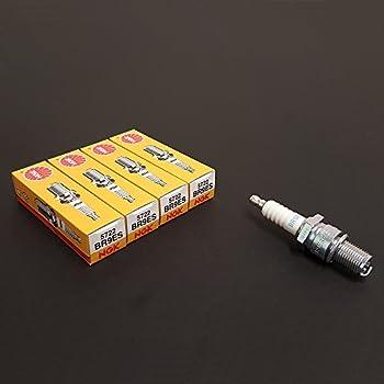NGK (5722) BR9ES Standard Spark Plug, Pack of (16)