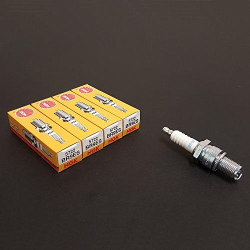 NGK (5722) BR9ES Standard Spark Plug, Pack