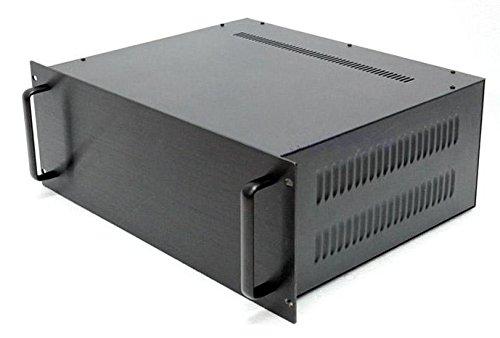 1sets 4U 19 Pulgadas de chasis/caso/caso chasis de intercambio de datos/alimentación para chasis comunicaciones/servidor. Negro: Amazon.es: Informática