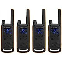 Motorola T82 Extreme Walkie-Talkies - Quad Pack - Paquet de Quatre