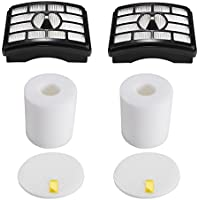 2 HEPA Filter + 2 Foam Flet Filter Kit for Shark Rotator Pro Lift-Away NV500 NV501 NV505 NV552 HEPA Filter & Foam Filter Kit, Part # XFH500 & XFF500