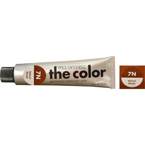 Paul Mitchell The Color Permanent Cream Hair Color 7N Natural Blonde 3oz