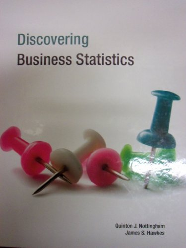 Discovering Business Statistics Textbook