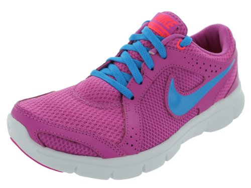 Nike Womens Flex Experience Rn 2 #599548-601 (Pnk/Blu/Wht) Club Pink/Atomic Red/White/Blue Hero