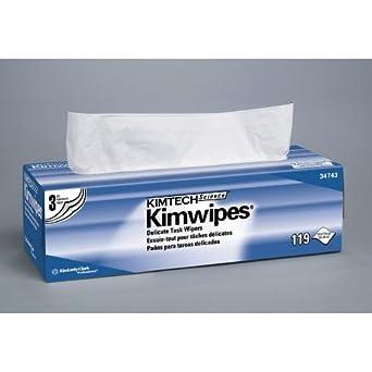 Kimberly-Clark 34120 Kimwipes Delicate Task Wiper, Small, Box (Pack of 30)