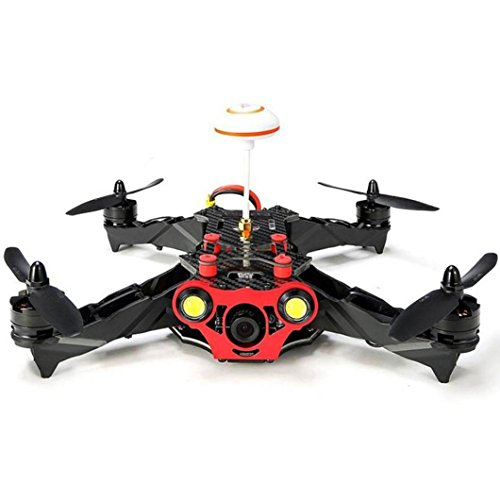 Price comparison product image Newest RC Drone Eachine Racer 250 FPV Quadcopter Built-In 5.8g Transmitter/OSD/ FPV/ Monitor BNF