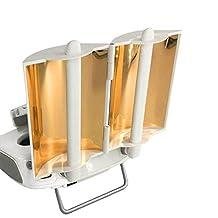 Hobbylane Antenna Range Booster for DJI Phantom 4 Phantom 3 Professional Advanced Inspire 1 Controller Transmitter Signal Extend(Gold,2pcs)