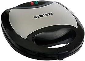 Black+Decker 750w 3 in 1 sandwich, grill and waffle maker - ts2090-b5