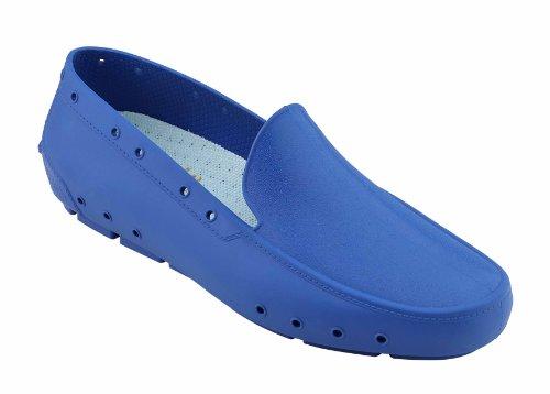 Moc Lady - Calzado de uso profesional WOCK - Esterilizable; Antiestático; Antideslizante; Absorción de Impactos Azul medio