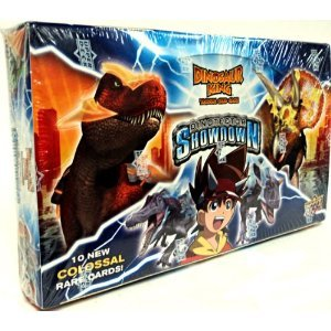 Dinosaur King Trading Card Game Series 5 Dinotector Showdown Booster Box 24 Packs