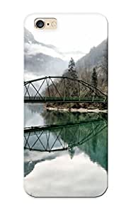 73139e85744 Tough Iphone 6 Plus Case Cover/ Case For Iphone 6 Plus(mountain Lake Reflection ) / New Year's Day's Gift