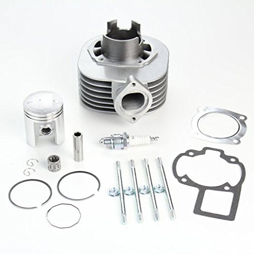 NICHE Cylinder Piston Gasket Top End Kit for Suzuki QuadSport LT80 1987-2006