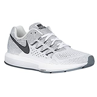 brumoso extraño Opcional  NIKE WOMENS AIR ZOOM VOMERO 10 RUNNING SHOES WHITE BLACK PLATINUM ...