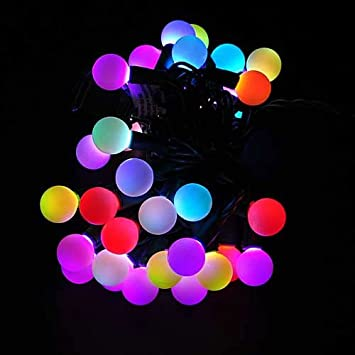 Amazon.com: Sewell Direct Linkable Color Changing LED RGB Ball ...