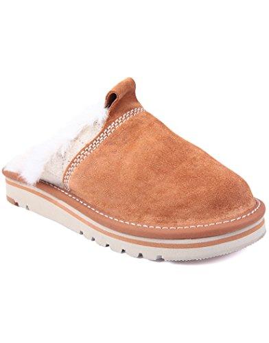 Williams Outright - Zapatillas de estar por casa para mujer marrón