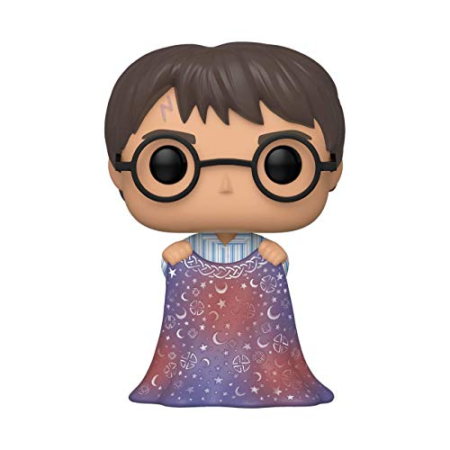 Funko Pop! Harry Potter Harry Potter - Harry w/Invisibility Cloak, Multicolor, Estandar