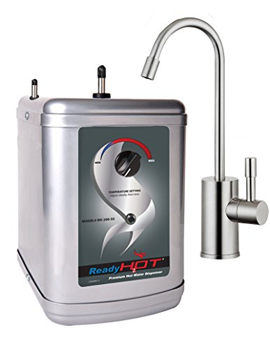 - Ready Hot RH-200-F570-BN Stainless Steel Hot Water Dispenser System, Includes Brushed Nickel Single Lever Faucet