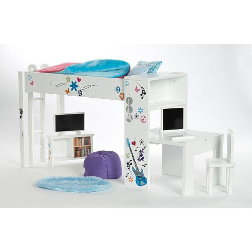 Amazon.com: Journey Girls Classic 18 inch Doll Bedroom Set: Toys & Games