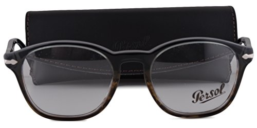 Persol PO3122V Eyeglasses 50-19-145 Dark Gray Gradient Green-Brown 1012 PO - Luxottica Www Com