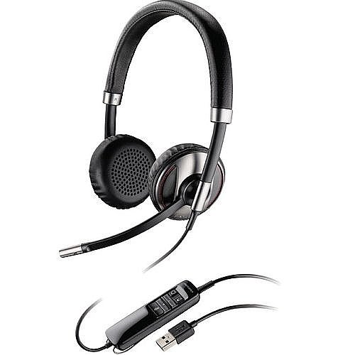 Plantronics (87506-01) Blackwire Noise Canceling Bluetooth Stereo Headsets with Integrated A2DP Technology and Padded Stereo Earphones