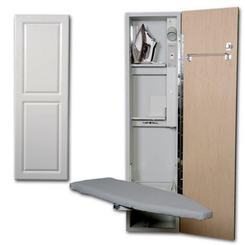 Universal Design Right Hinge Ironing Center Door Finish: Raised White Panel by Iron-A-Way LLC