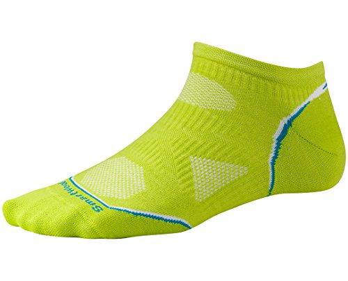 Smartwool Women's PhD Cycle Ultra Light Micro Socks (Smartwool Green) Small