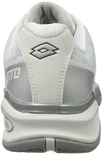 Ii Mt Lotto Blue White Tennis Stratosphere Women's Wht Cly Bright W Slv Shoes White OEqZE