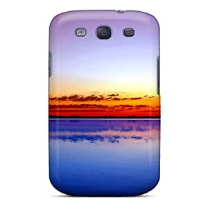 High Impact Dirt/shock Proof Case Cover For Galaxy S3 (birds Flight In Paradise)