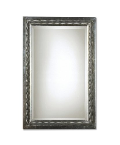 Uttermost 14411 25-Inch by 35-Inch Triple Beaded Vanity Mirror (Triple Oval Frame)