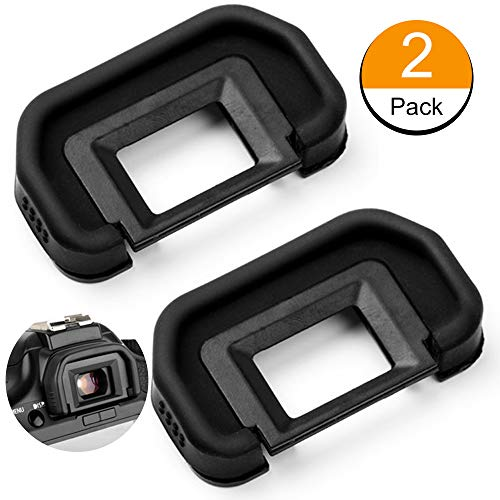 EB Eyecup,Sedremm Camera EB Eyecup Replacement Eyepiece for Canon EOS 5D Mark II / 5D / 6D / 70D / 60D/ 50D/ 40D Cameras Viewfinder, 2 Pack